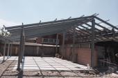 Struttura per capannone in ferro zincato
