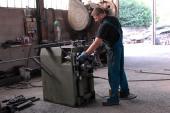 Calandratura bacchetta ferro