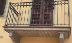 Ringhiera balconi con decori