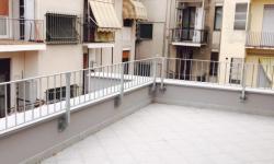 Ringhiera zincata per balconi